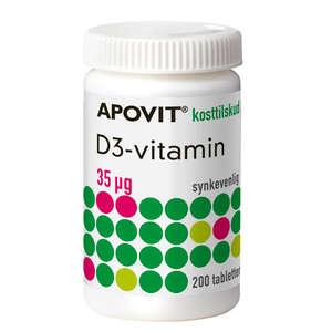 Apovit D3-vitamin 35 mikg
