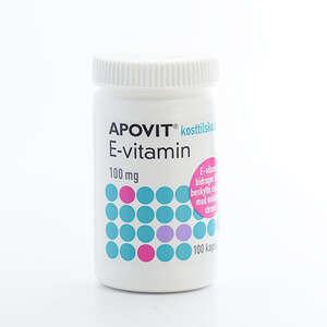 Apovit E-vitamin 100 mg