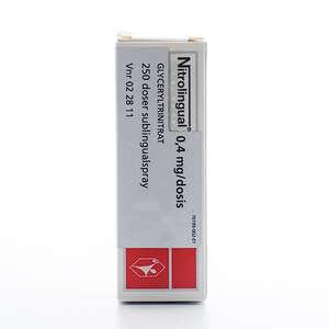 Nitrolingual 0,4 mg/dosis