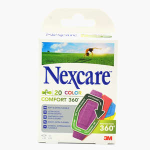 Nexcare Comfort 360 Strips Col