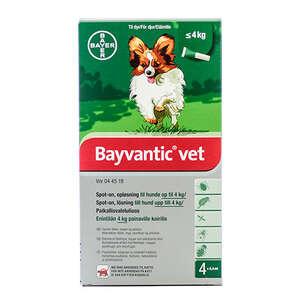 Bayvantic Vet. til hunde under