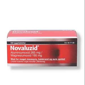 Novaluzid 265 mg + 195 mg