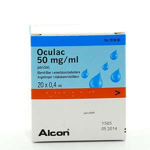 Oculac 50 mg/ml