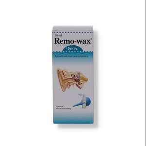 Remo-wax ørespray m.øresprøjte