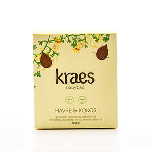 KRAES Babybad Havre & Kokos