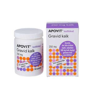 Apovit Gravid Kalk tabletter