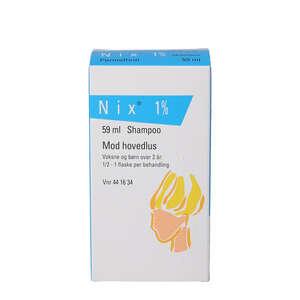 Nix shampoo 1%