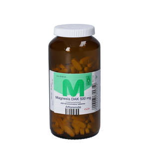 "Magnesia ""DAK"" 500 mg"