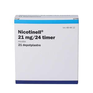 Nicotinell (PA) 21 mg/24 timer 21 stk