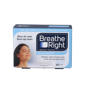 Breathe Right Næsestrips (30 stk)