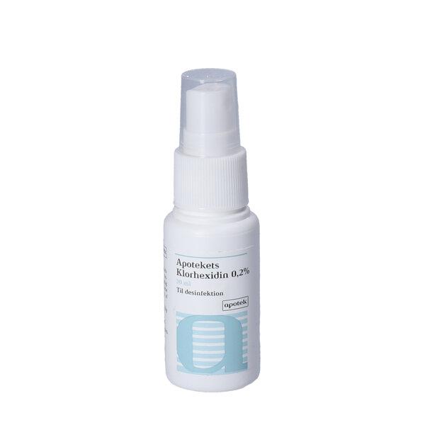 Apotekets Klorhexidin Spray 0,2% (30 ml)
