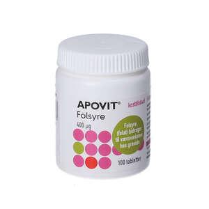 Apovit Folsyre tabletter