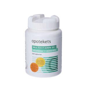 Apotekets Multivitamin 50+ tabletter