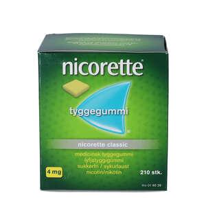 Nicorette Classic 4 mg 210 stk