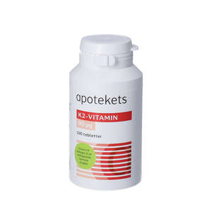 Apotekets K2 Vitamin tabletter
