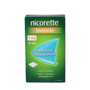 Nicorette fruitmint 2 mg 30 stk