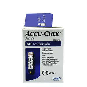 Accu-Chek Aviva Teststrimler 50 stk