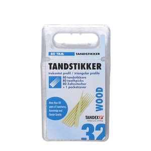 Tandex Træ Tandstikker