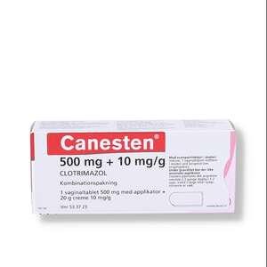 Canesten 500 mg + 10 mg/g
