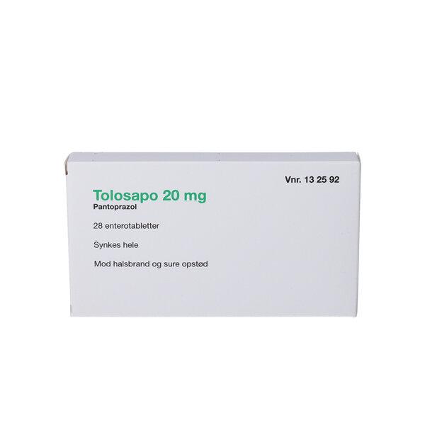 Tolosapo 20 mg 28 stk