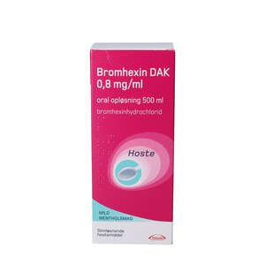 """Bromhexin """"DAK"""" 500 ml"""