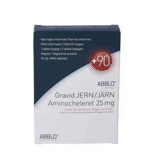 ABBLO MINI Gravid Jern tabletter