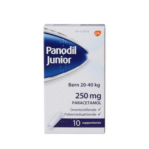 Panodil Junior 250 mg
