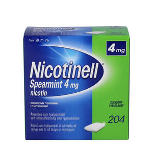 Nicotinell Spearmint 4 mg 204 stk