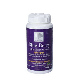 Blue Berry Plus øjenvitamin tabletter (240 stk)