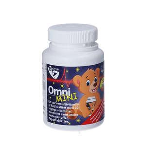 Biosym OmniMINI tyggetabletter (80 stk)