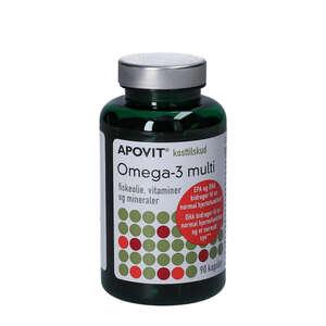 Apovit Omega-3 Multi Kapsler