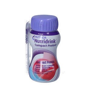 Nutridrink Compact Prot Cool Rød frugt