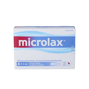Microlax 4 * 5 ml