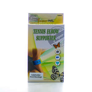 Jasper Tennisalbue bind (hvid)