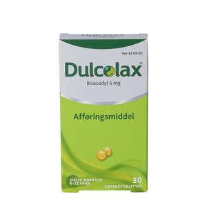 Dulcolax 5 mg 30 stk