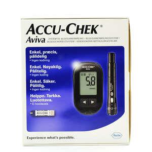 Accu-Chek Aviva mmo/L kit10