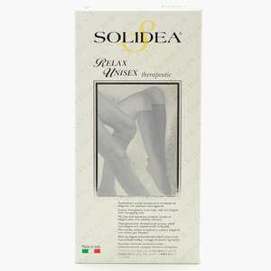 Solidea Relax Unisex Therapeutic Strømpe (M/natur/åben)