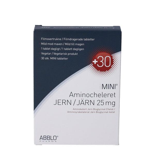 ABBLO MINI Aminocheleret Jern 30 stk
