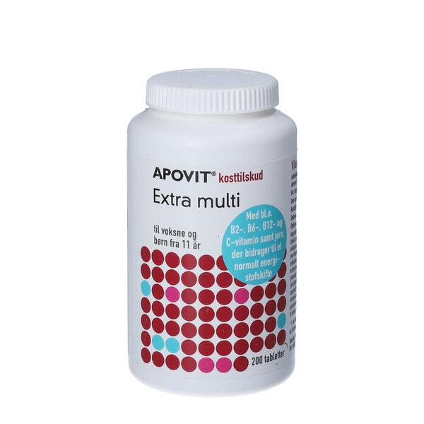 Apovit Extra Multi 200 stk
