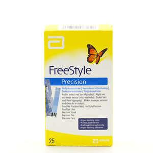 Freestyle Precision Teststrimler (25 stk)