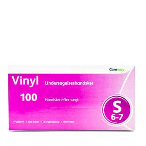 Careway Vinyl Handsker (S)