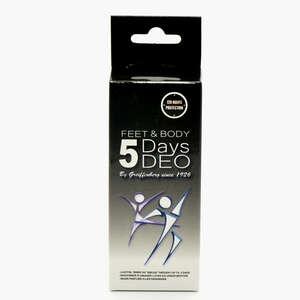 5 days feet & body deodorant