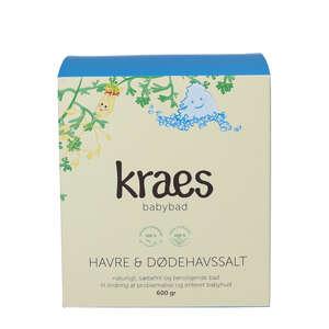 KRAES Babybad Havre & Dødehavssalt (600 g)