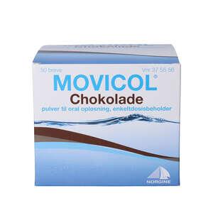Movicol Chokolade breve til oral opløsning 50 stk