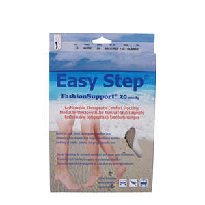 Easy Step FashionSupport Knæ (nude/lukket/S)