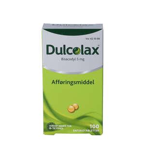 Dulcolax 5 mg 100 stk