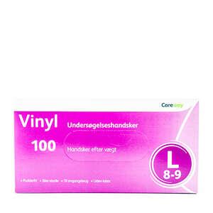 Careway Vinyl Handsker (L)