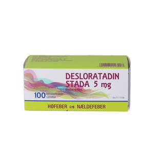 "Desloratadin ""Stada"" 5 mg 100 stk"
