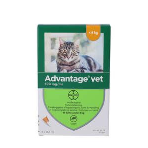 Advantage Vet. Opløsning (kat <4 kg)