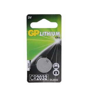 GP Lithium batteri (CR 2032 - 3 V)